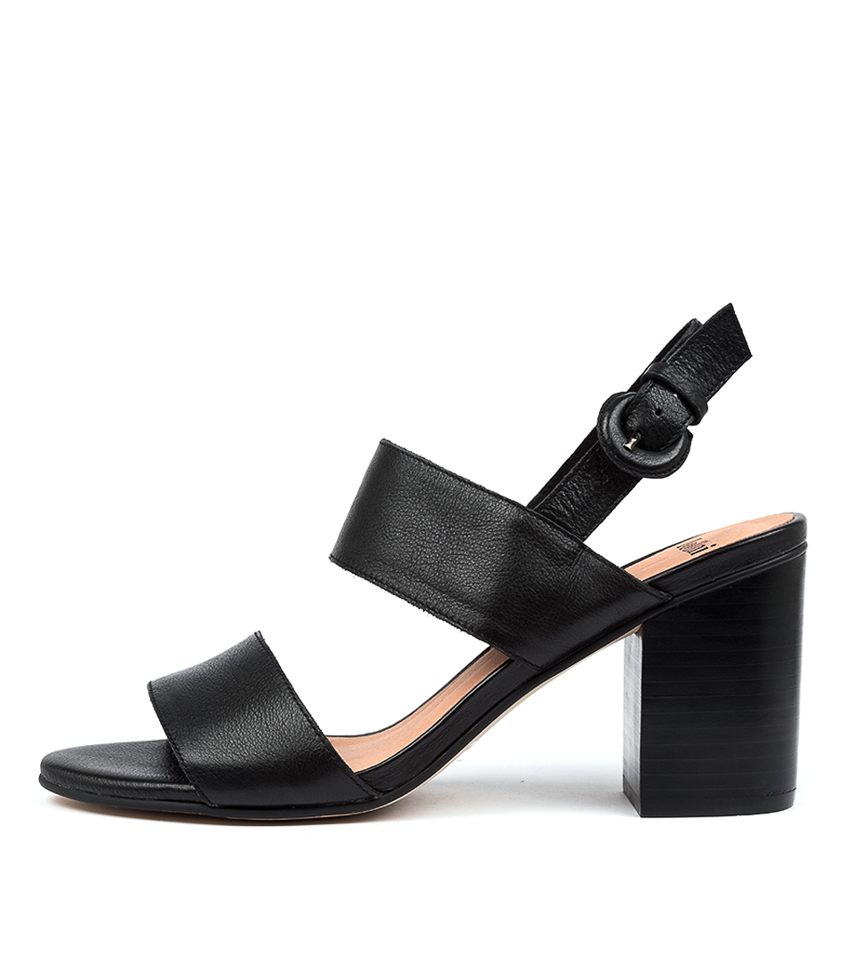 Buy Mollini Ahoma Mo Black Heel Heeled Sandals online with free shipping