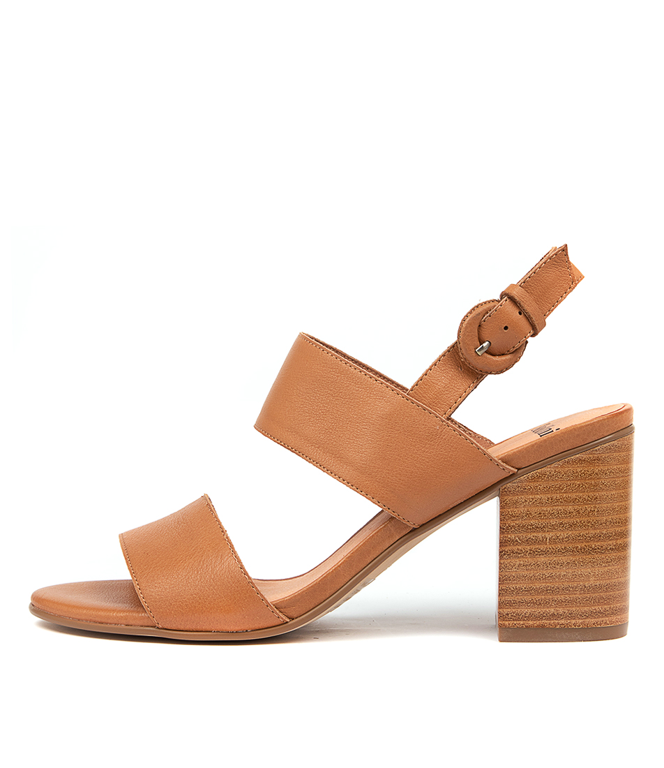 Buy Mollini Ahoma Mo Dk Tan Heeled Sandals online with free shipping