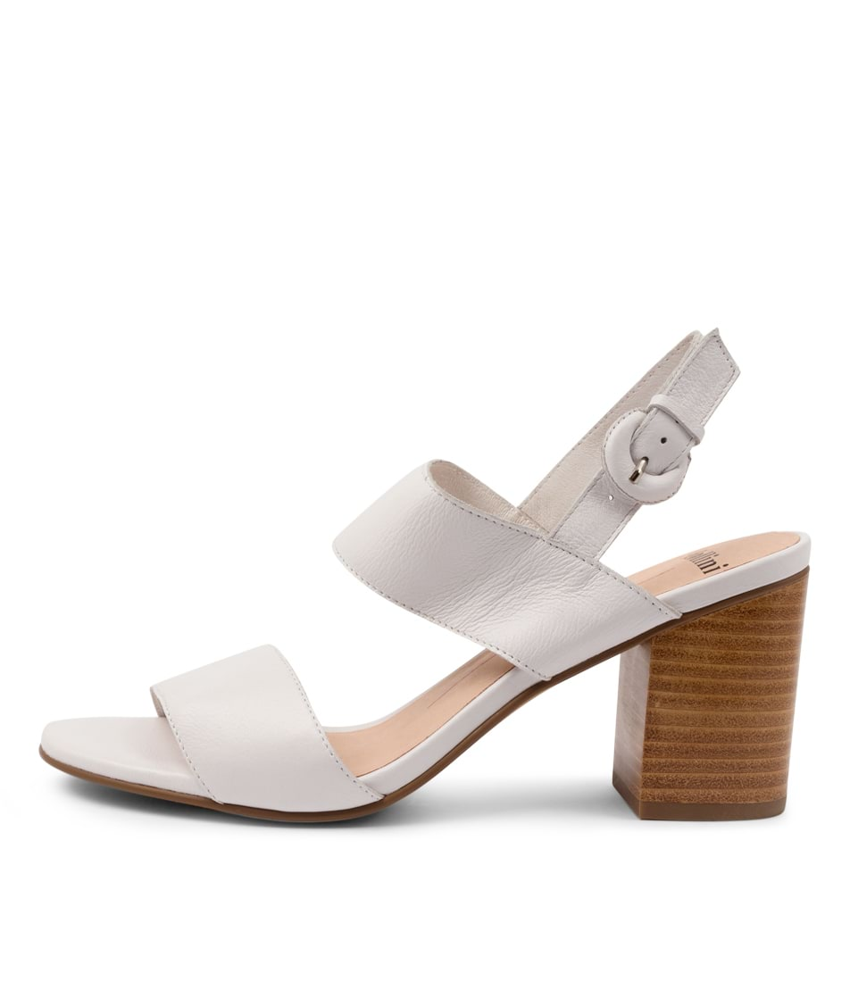 Buy Mollini Ahoma Mo White Heeled Sandals online with free shipping