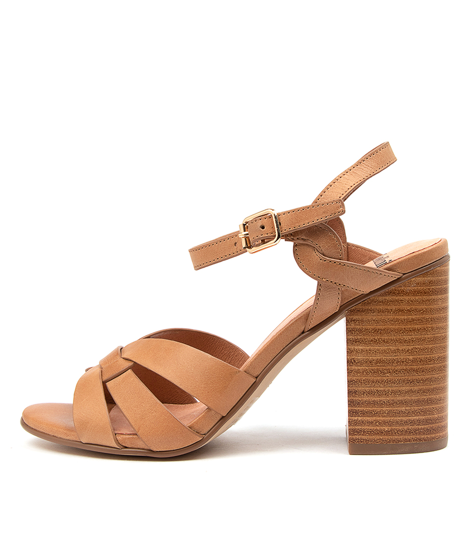 Buy Mollini Oaten Mo Tan Heeled Sandals online with free shipping