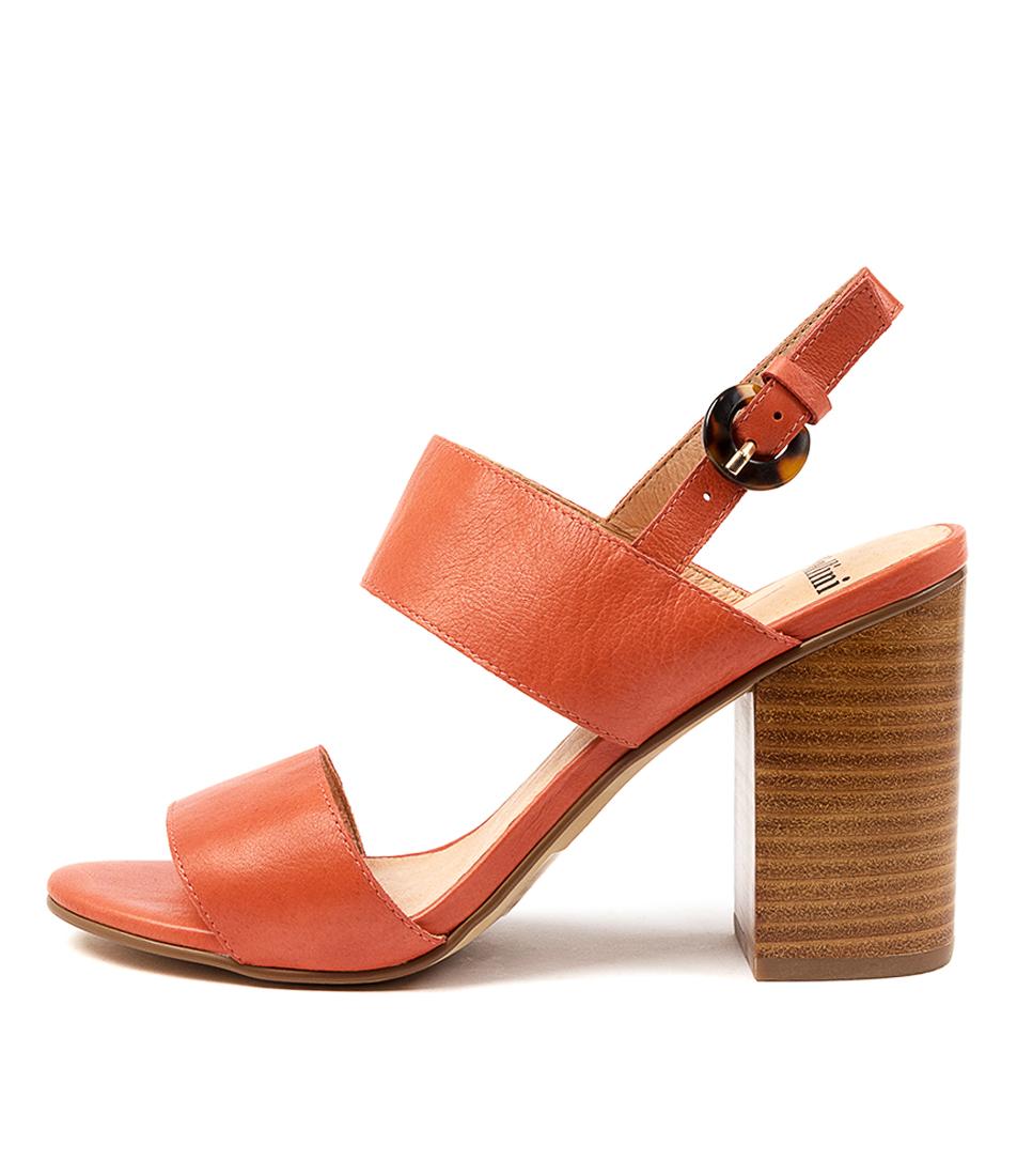 Buy Mollini Ogosha Mo Burnt Orange Heeled Sandals online with free shipping