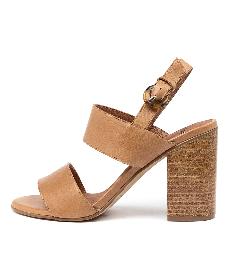 Buy Mollini Ogosha Mo Tan Heeled Sandals online with free shipping