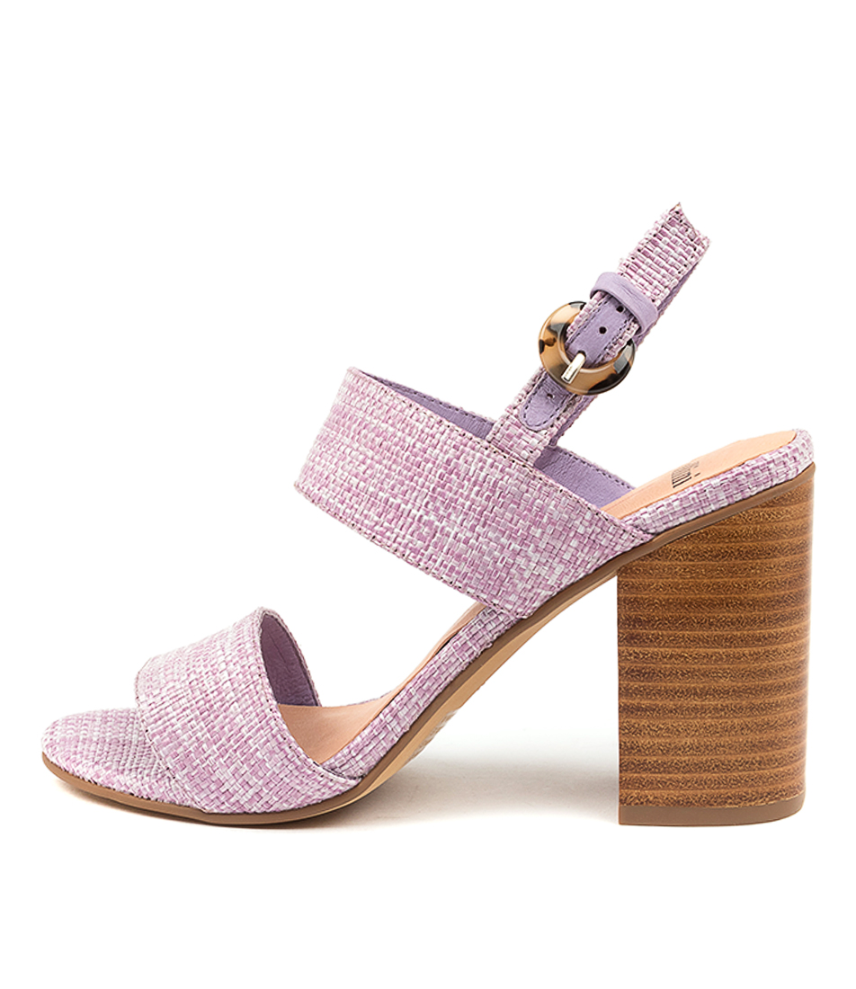 Buy Mollini Ogosh Mo Lilac Heeled Sandals online with free shipping