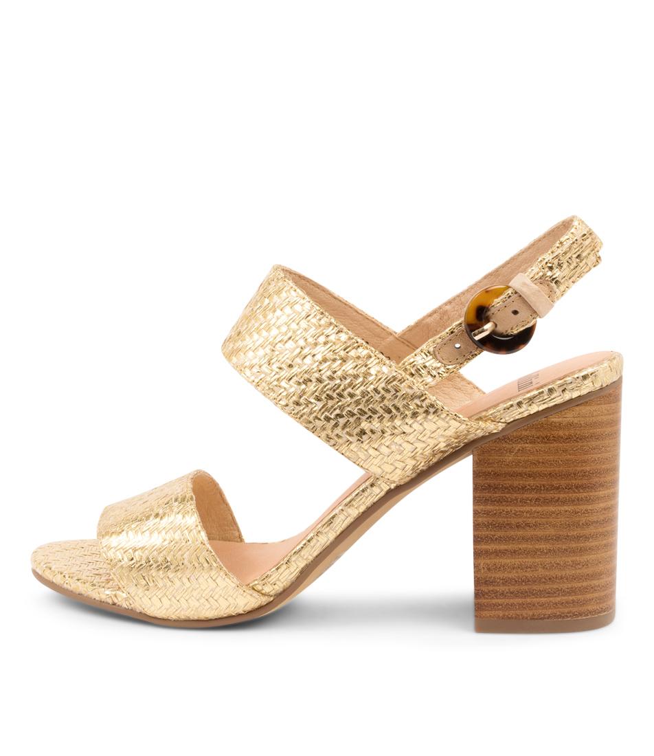 Buy Mollini Ogosh Mo Metallic Heeled Sandals online with free shipping
