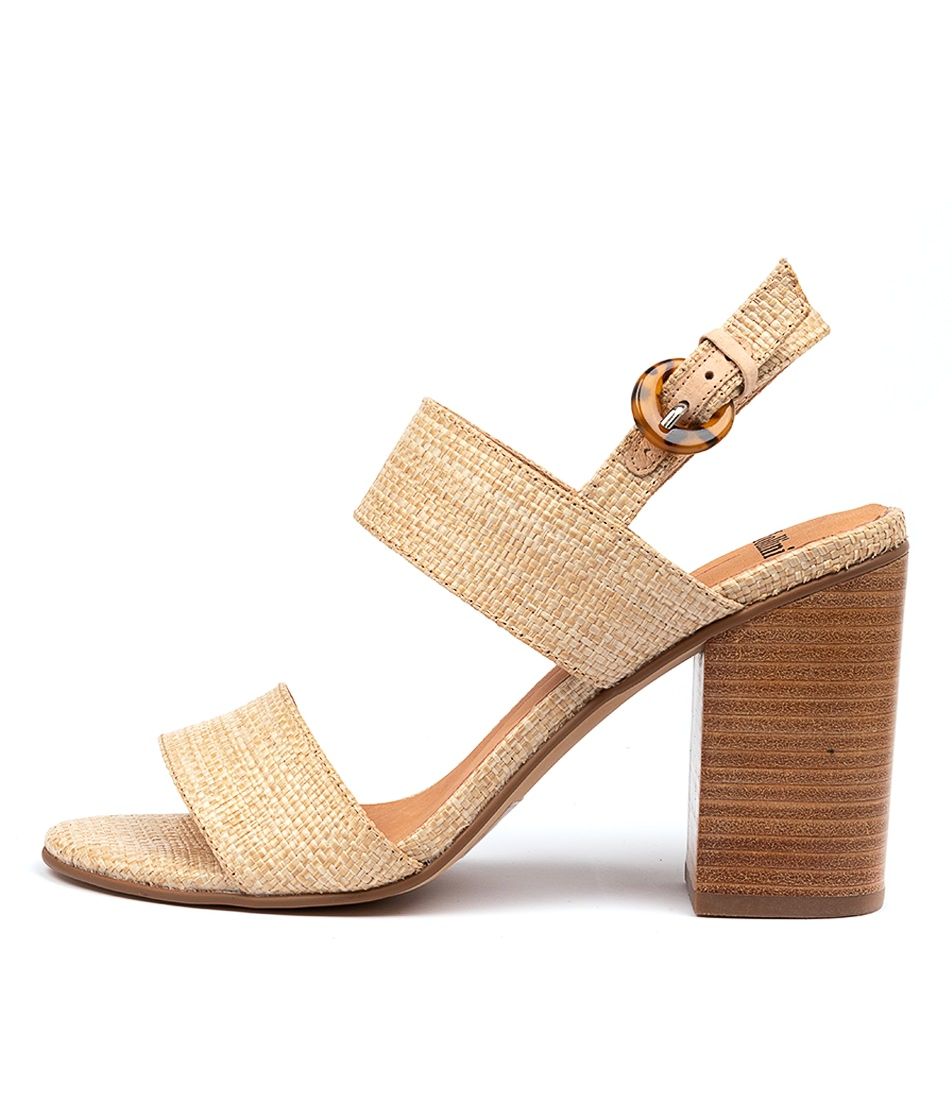 Buy Mollini Ogosh Mo Natural Heeled Sandals online with free shipping