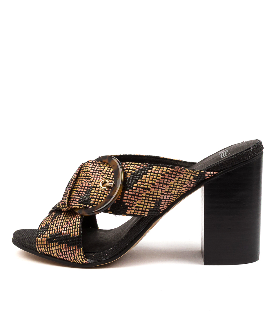 Buy Mollini Onsir Mo Tan Multi Heeled Sandals online with free shipping