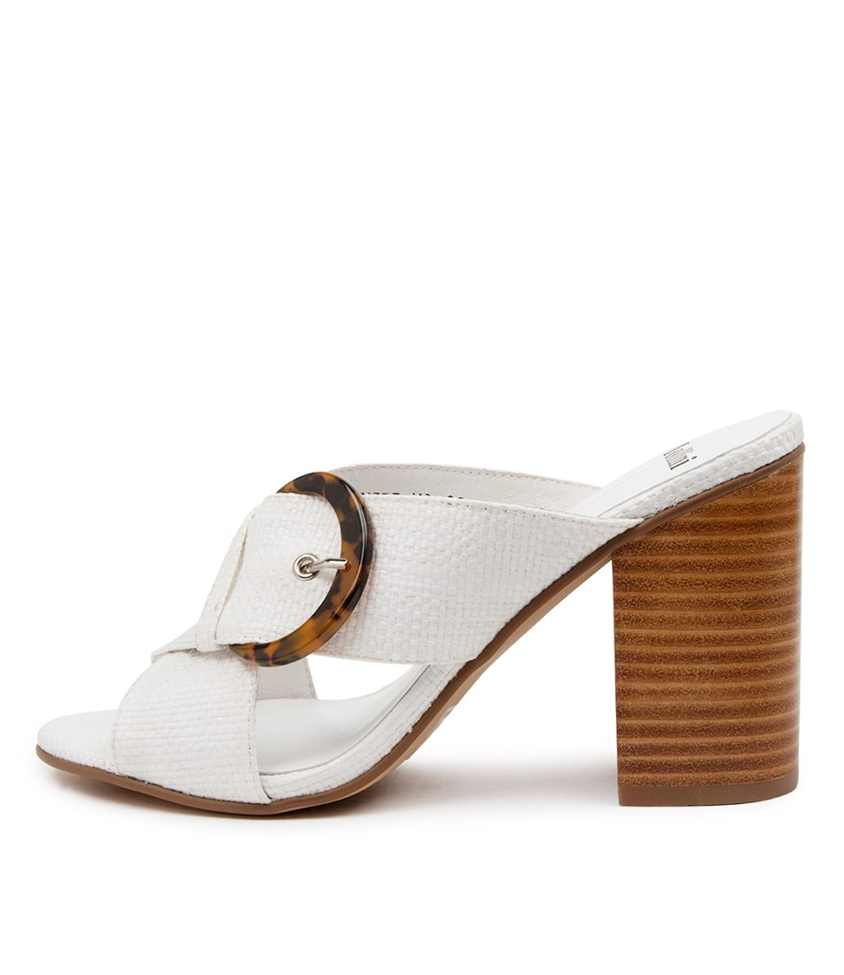 Buy Mollini Onsir Mo White Heeled Sandals online with free shipping