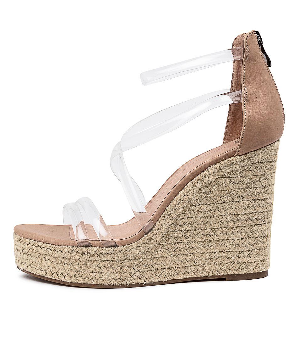 Buy Mollini Kbaby Mo Clear Nude Heeled Sandals online with free shipping