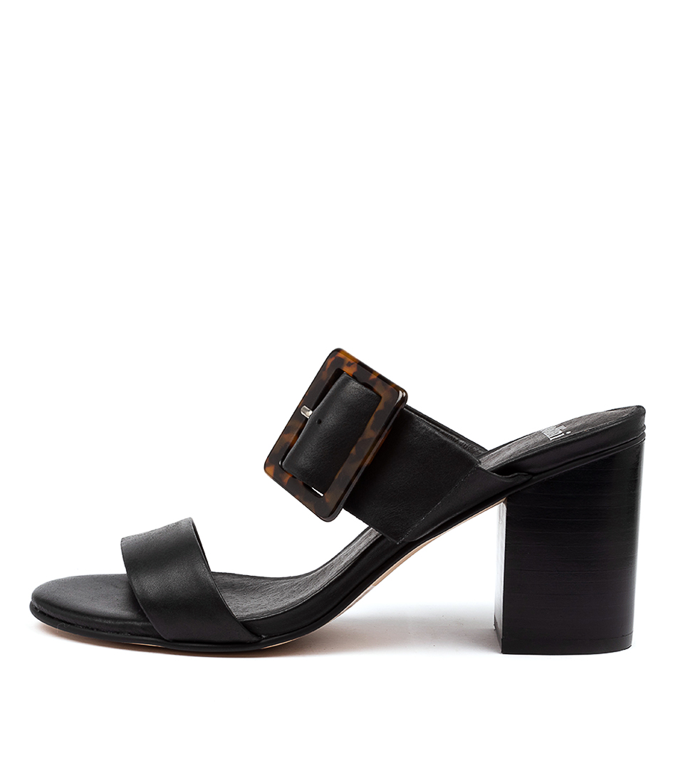 Buy Mollini Allana Mo Black Heel Heeled Sandals online with free shipping