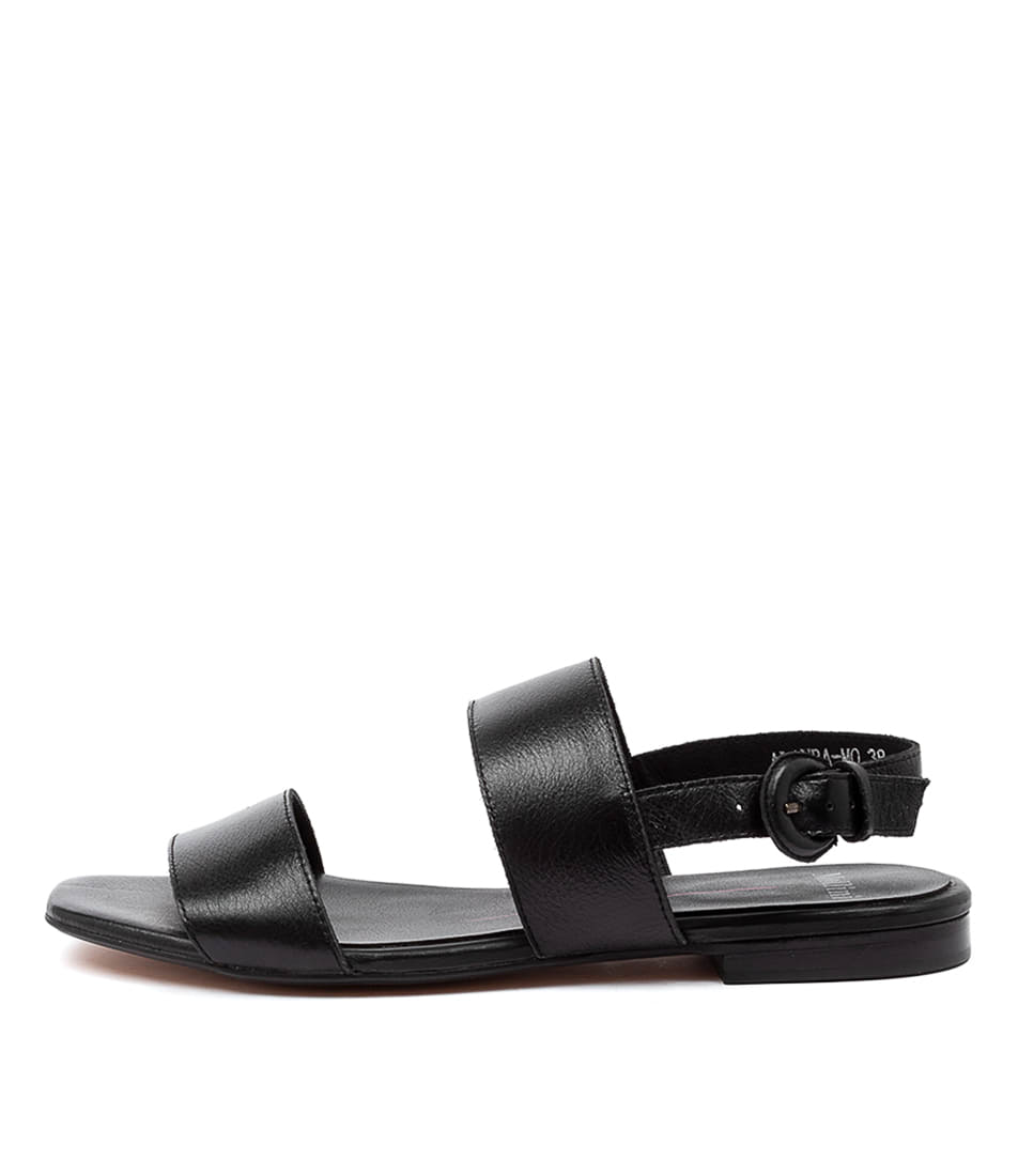 Buy Mollini Alaura Mo Black Sandals online with free shipping