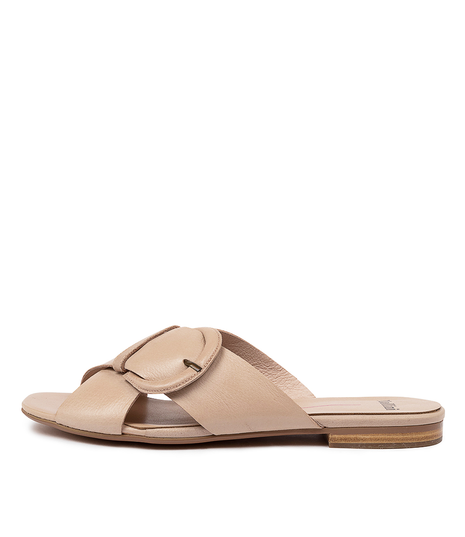 Buy Mollini Aysie Mo Latte Flat Sandals online with free shipping
