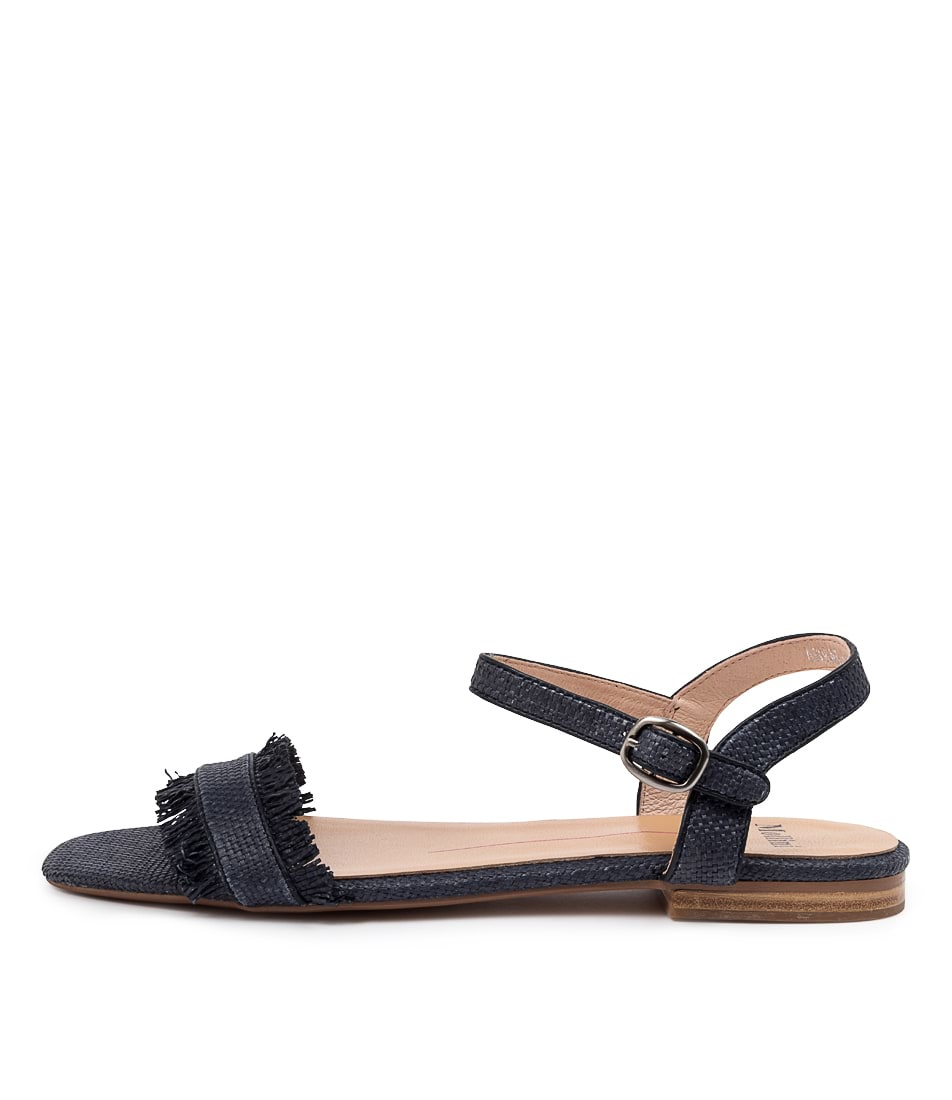 Buy Mollini Asmae Mo Navy Flat Sandals online with free shipping