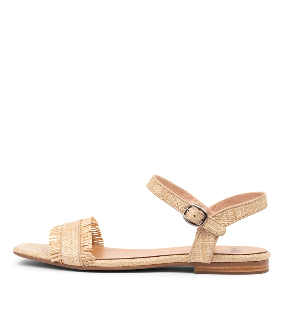Buy Mollini Asmae Mo Natural Flat Sandals online with free shipping