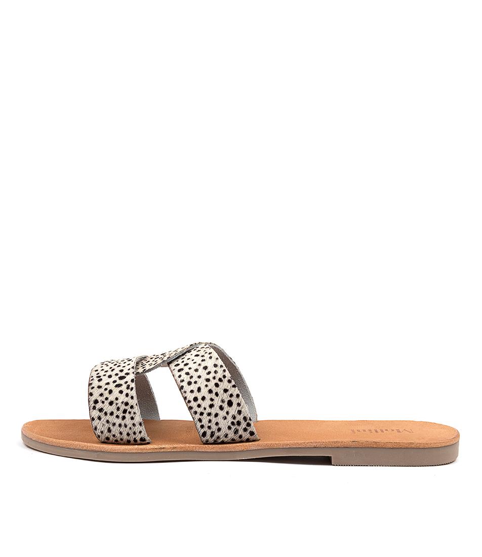 Buy Mollini Jinni Mo Cheetah Flat Sandals online with free shipping