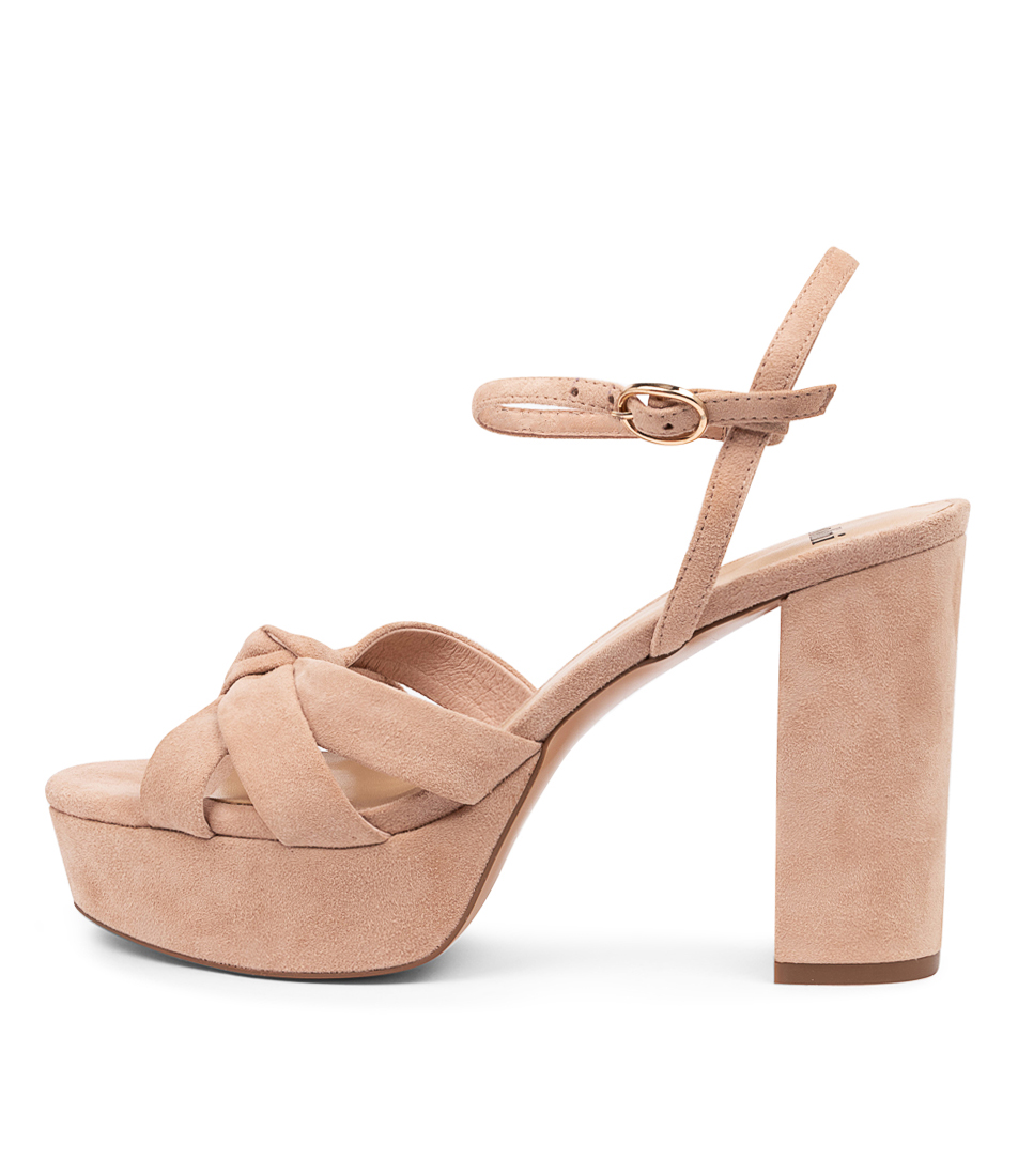 Buy Mollini Aroni Mo Nude Heeled Sandals online with free shipping