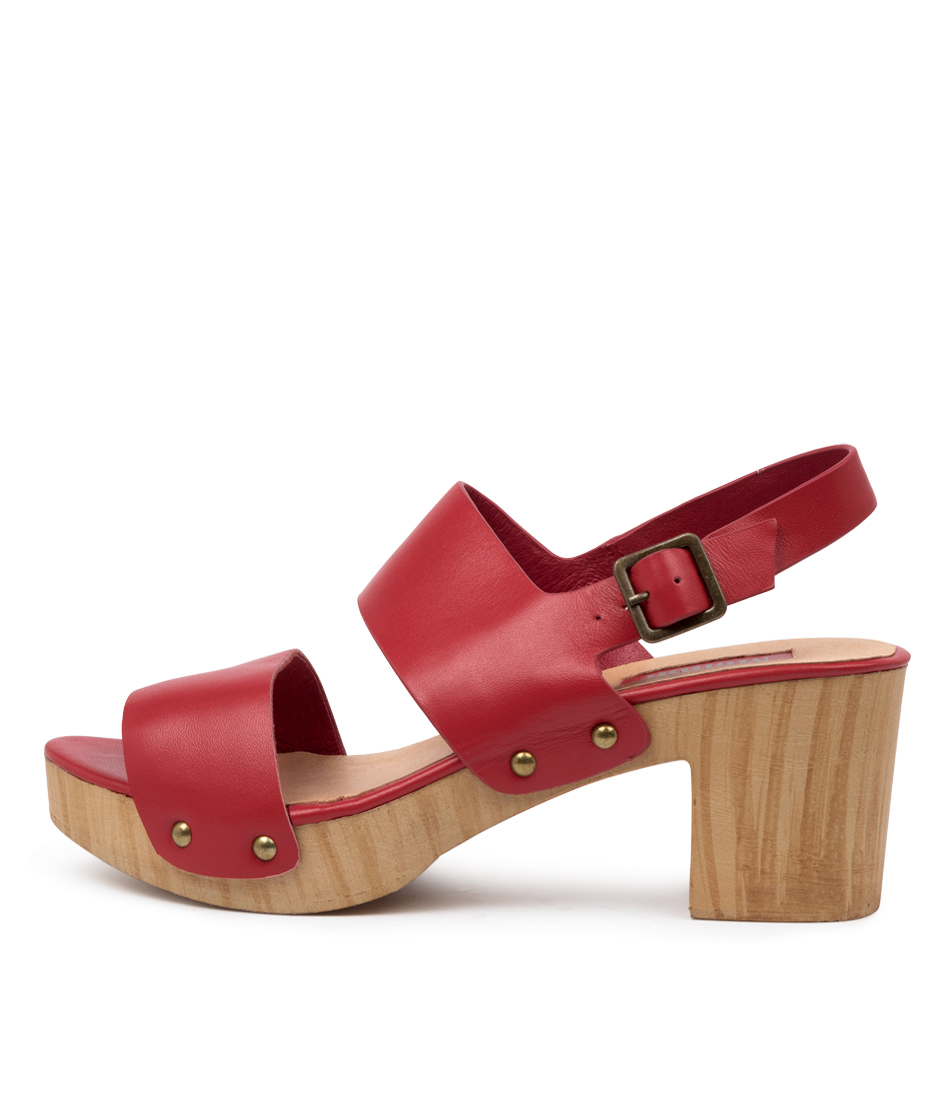 Buy Mollini Bayside Mo Red Heeled Sandals online with free shipping