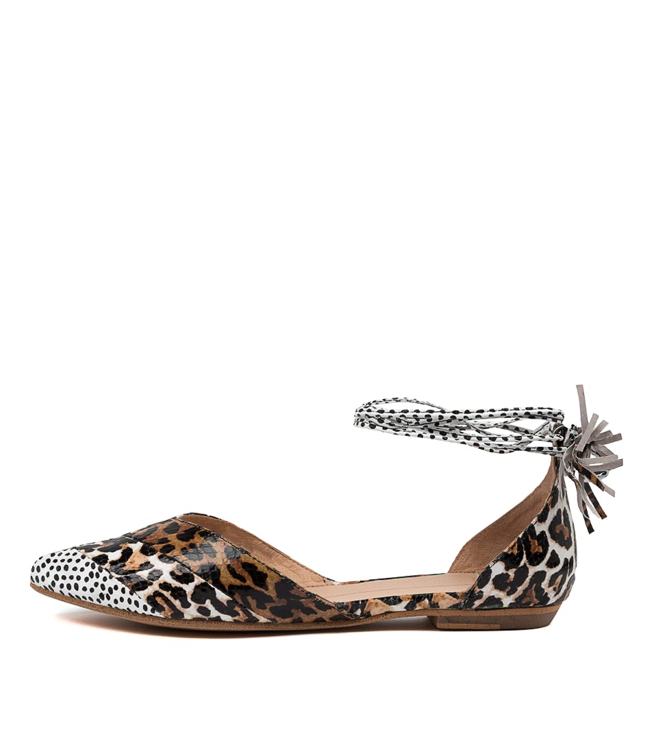 Buy Mollini Gyland Mo Ocelot Multi Flats online with free shipping