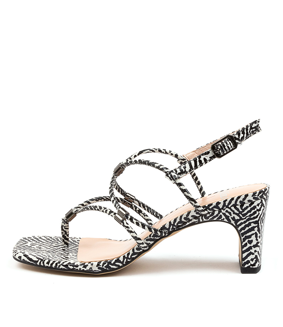 Buy Mollini Hayles Mo Tribal Print Heeled Sandals online with free shipping