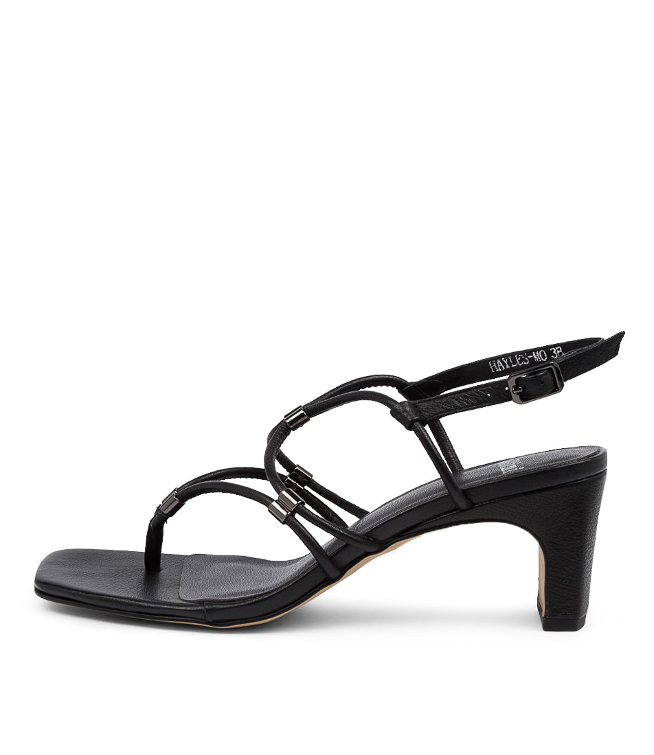 Buy Mollini Hayles Mo Black Heeled Sandals online with free shipping