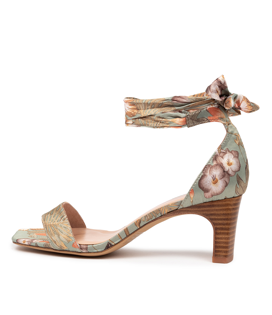 Buy Mollini Hector Mo Botanical Heeled Sandals online with free shipping