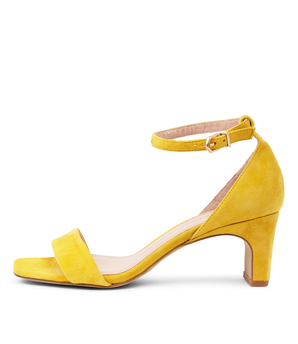 Buy Mollini Heidi Mo Yellow Heeled Sandals online with free shipping