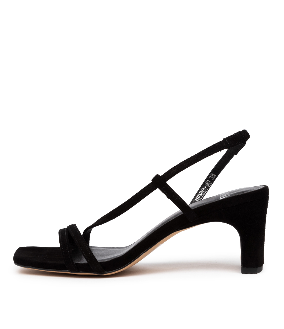 Buy Mollini Henna Mo Black Heeled Sandals online with free shipping