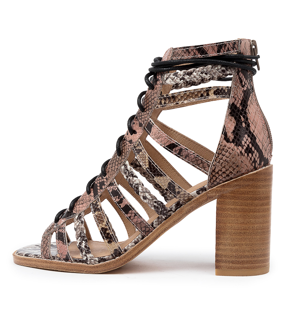 Buy Mollini Jiji Mo Snake Multi Heeled Sandals online with free shipping