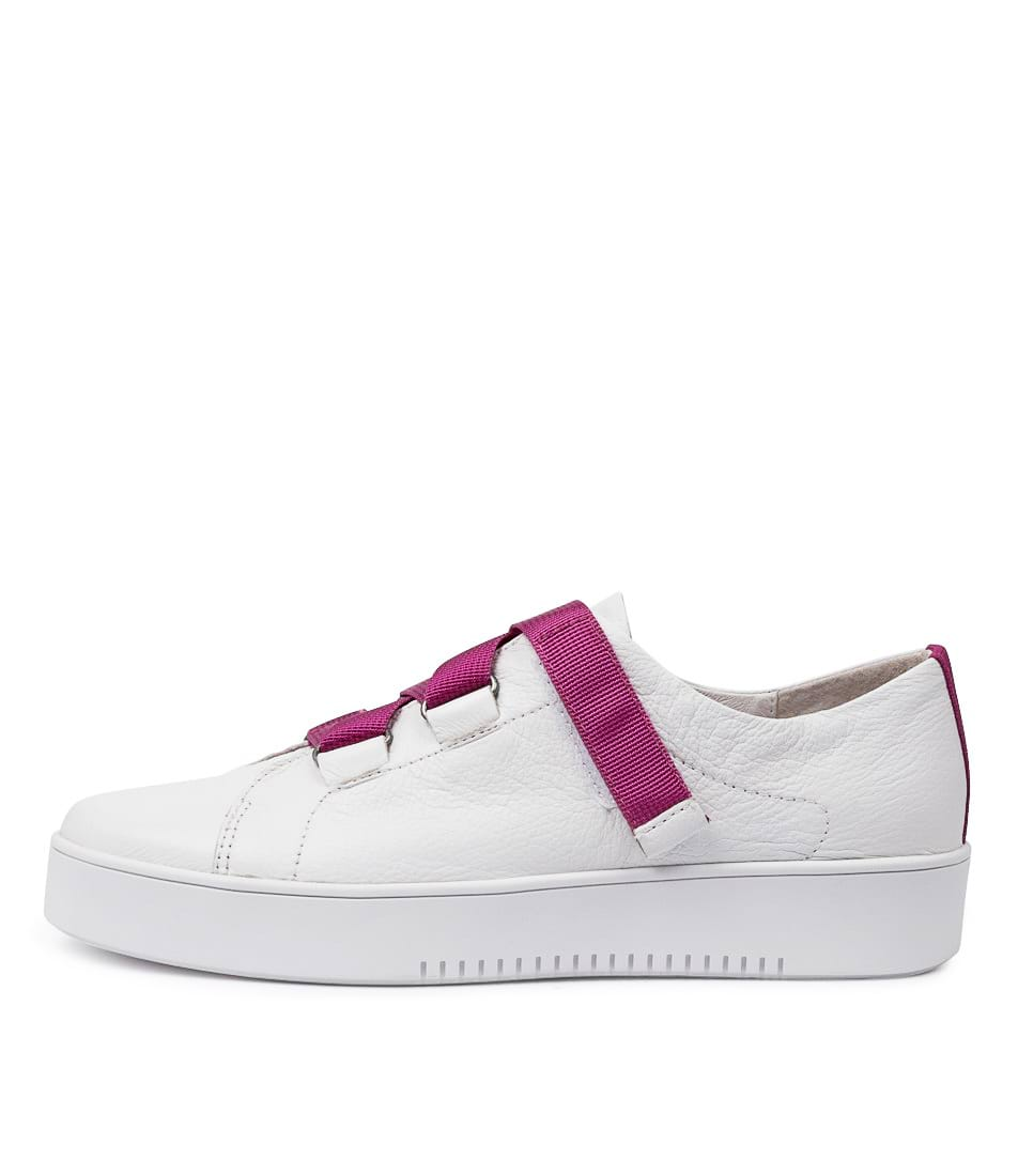 Buy Mollini Lafay Mo White Magenta Sneakers online with free shipping