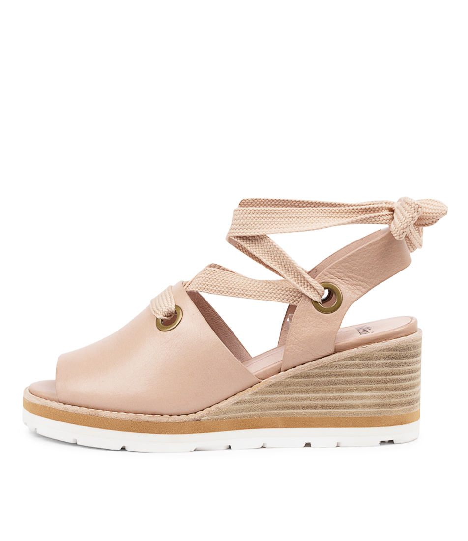 Buy Mollini Nayla Mo Dk Nude Heeled Sandals online with free shipping