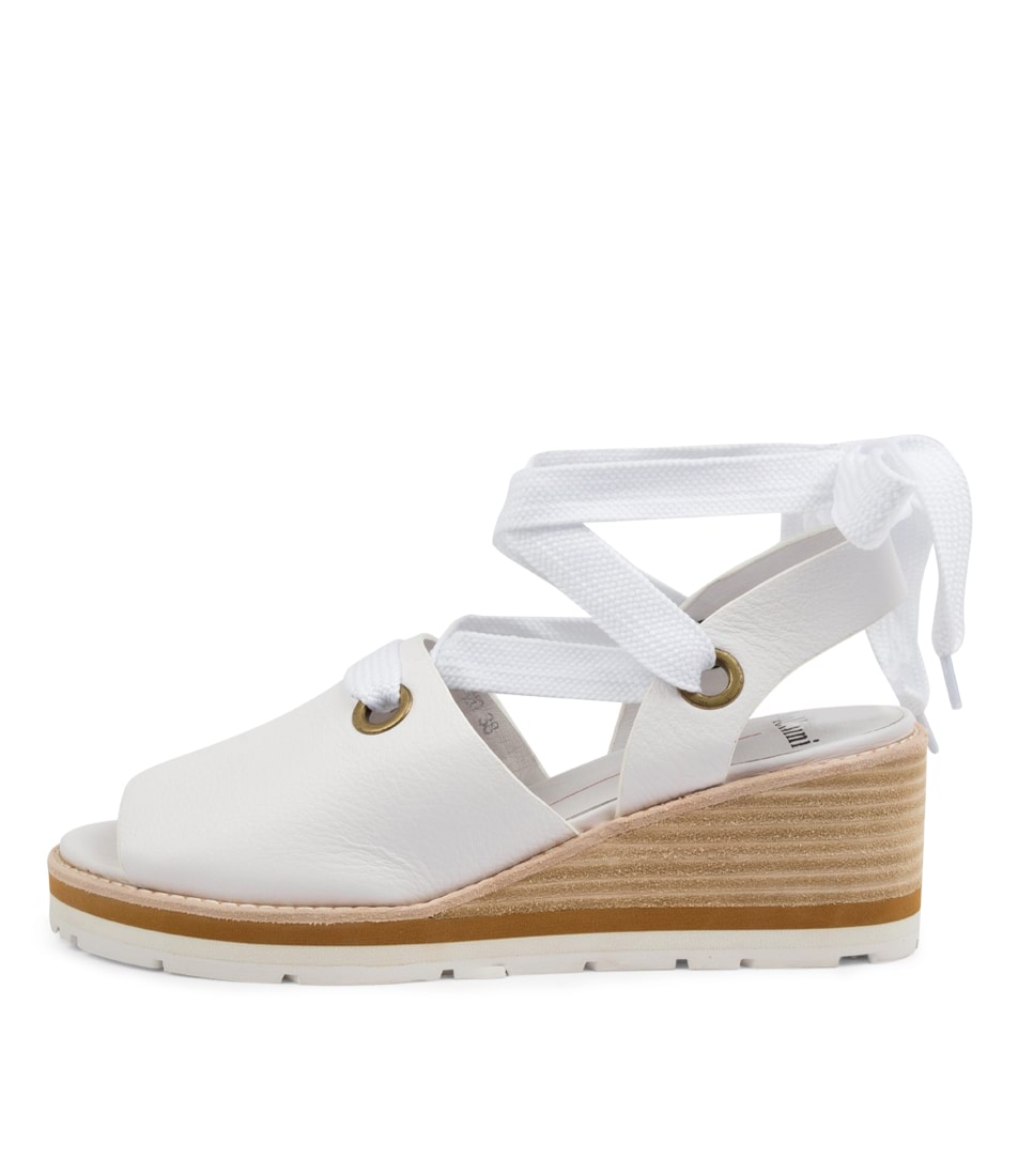 Buy Mollini Nayla Mo White Heeled Sandals online with free shipping