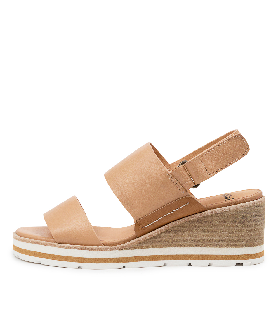 Buy Mollini Neddie Mo Cafe Dk Tan Heeled Sandals online with free shipping