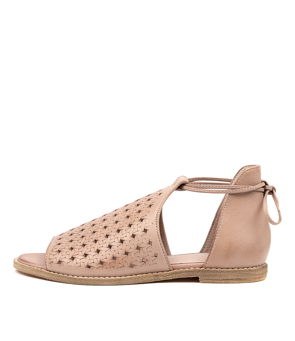 Buy Mollini Norwin Mo Dk Nude Flat Sandals online with free shipping