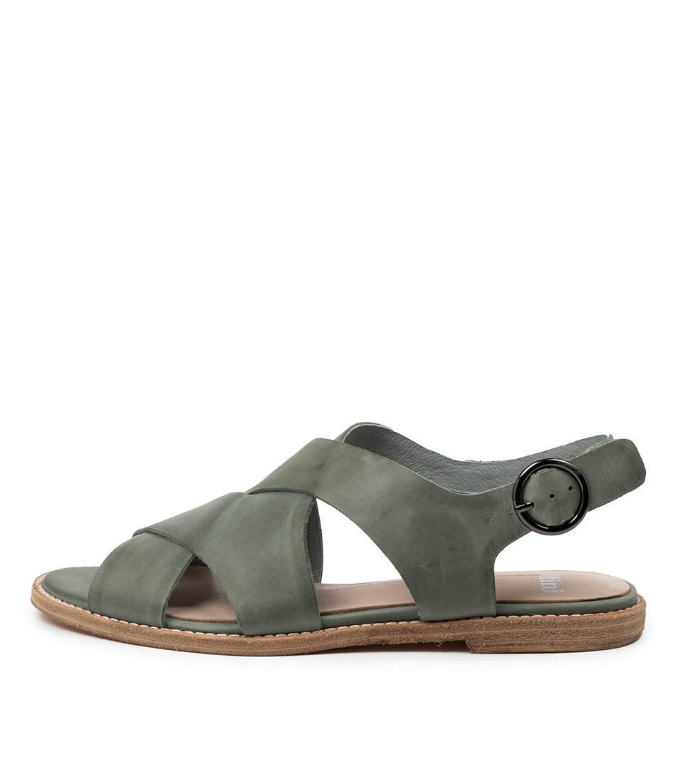 Buy Mollini Nythe Mo Steel Flat Sandals online with free shipping