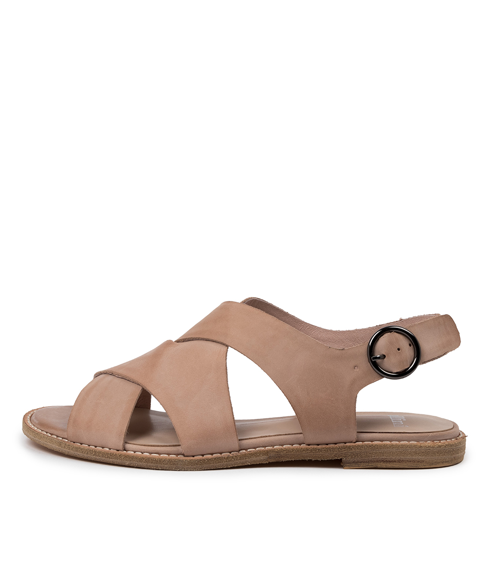 Buy Mollini Nythe Mo Nude Flat Sandals online with free shipping