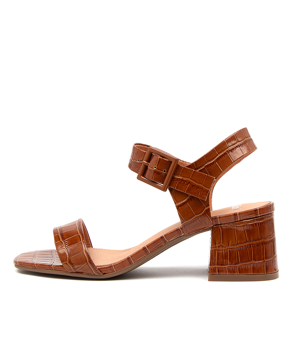 Buy Mollini Palant Mo Tan Heeled Sandals online with free shipping