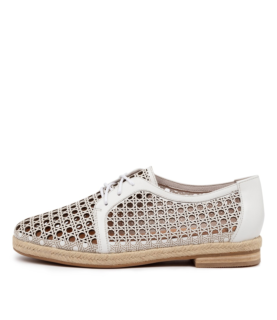 Buy Mollini Qwerty Mo White Flats online with free shipping