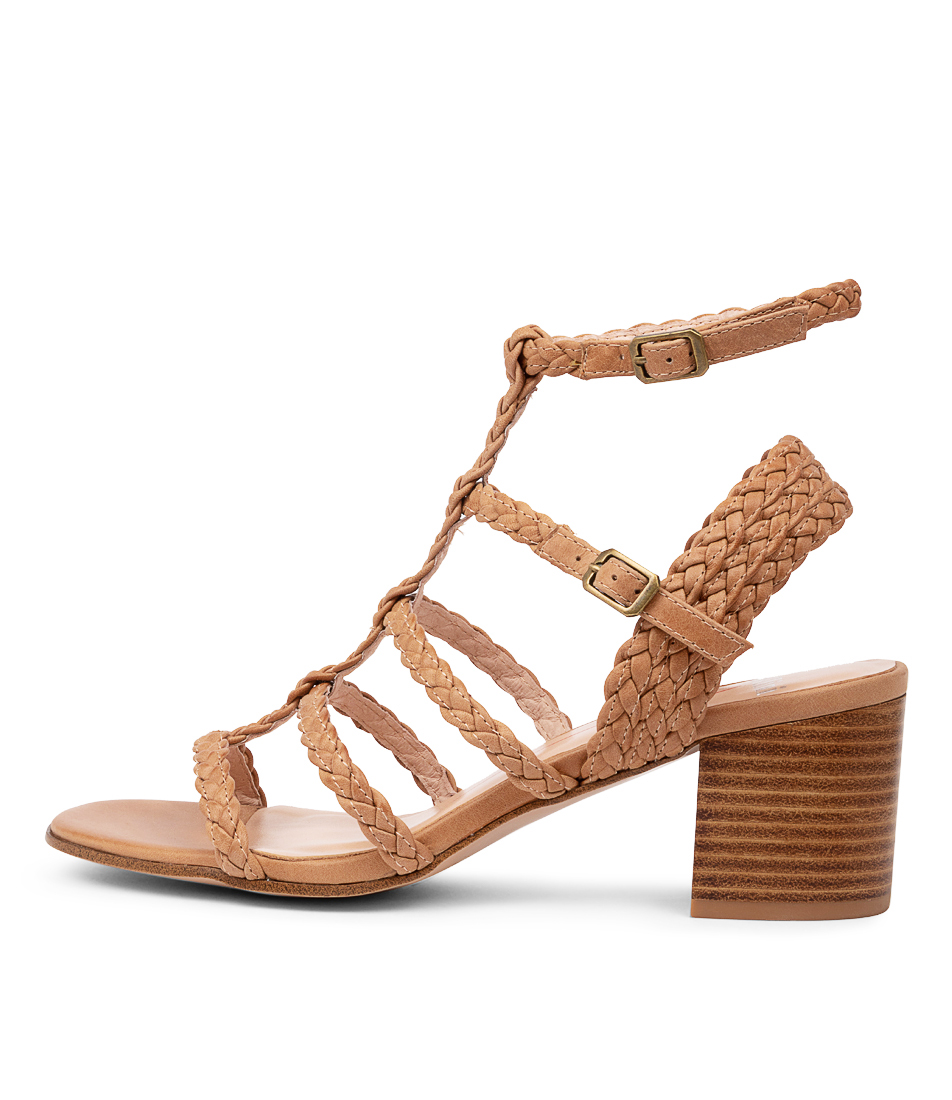 Buy Mollini Rampili Mo Tan Heeled Sandals online with free shipping
