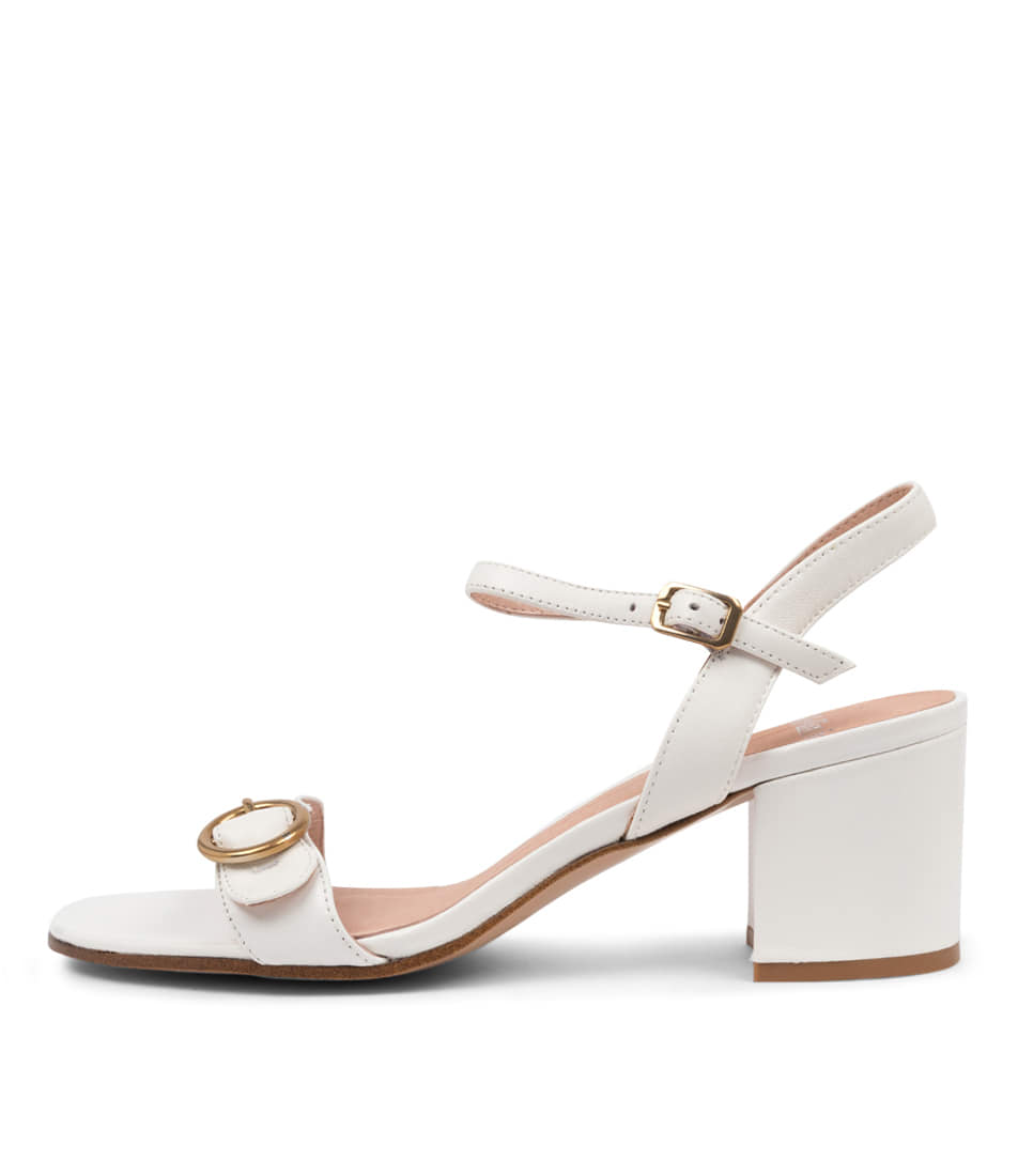 Buy Mollini Riva Mo White Heeled Sandals online with free shipping