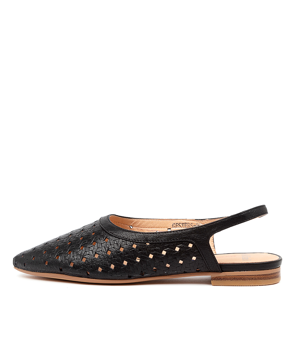 Buy Mollini Gesters Mo Black Flats online with free shipping