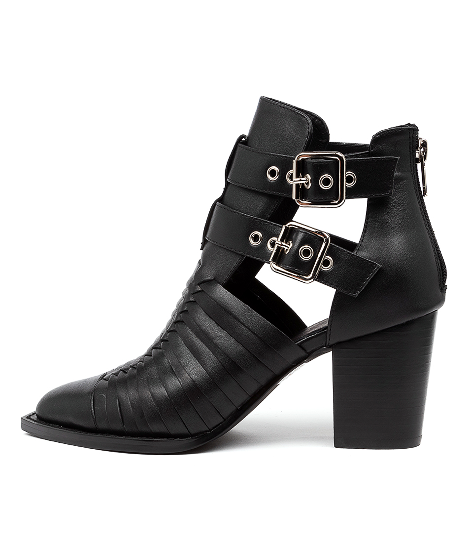 Buy Mollini Lophie Mo Black Ankle Boots online with free shipping