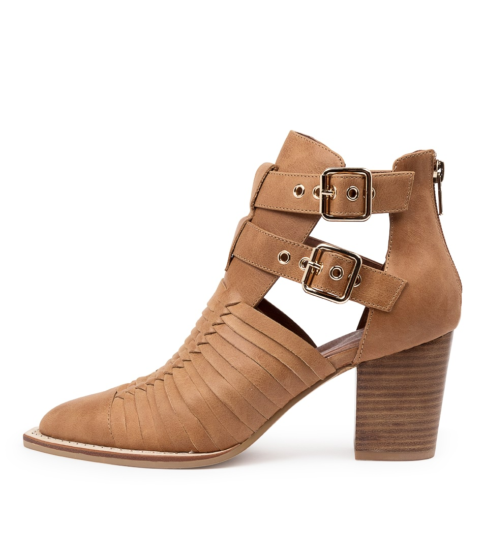 Buy Mollini Lophie Mo Tan Ankle Boots online with free shipping