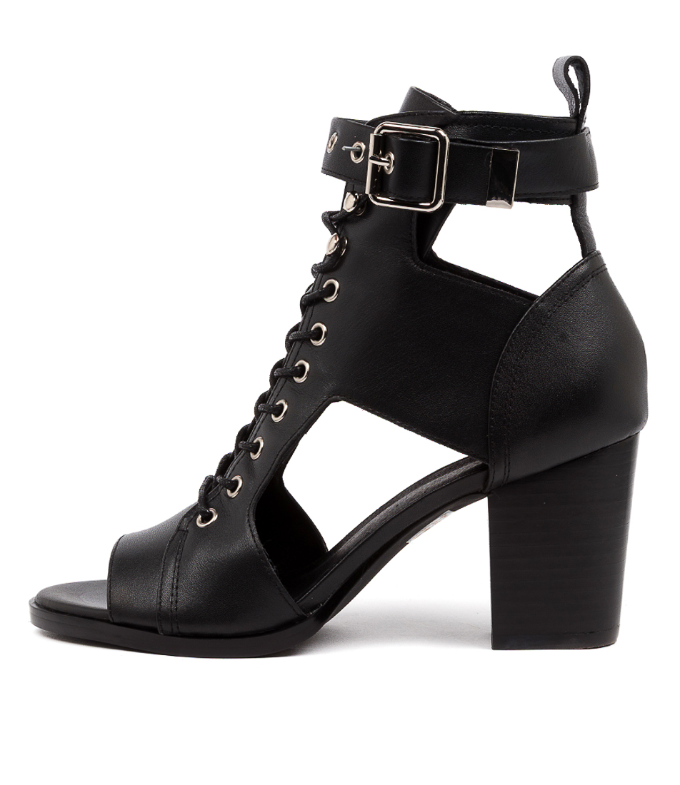Buy Mollini Eedey Mo Black Heeled Sandals online with free shipping