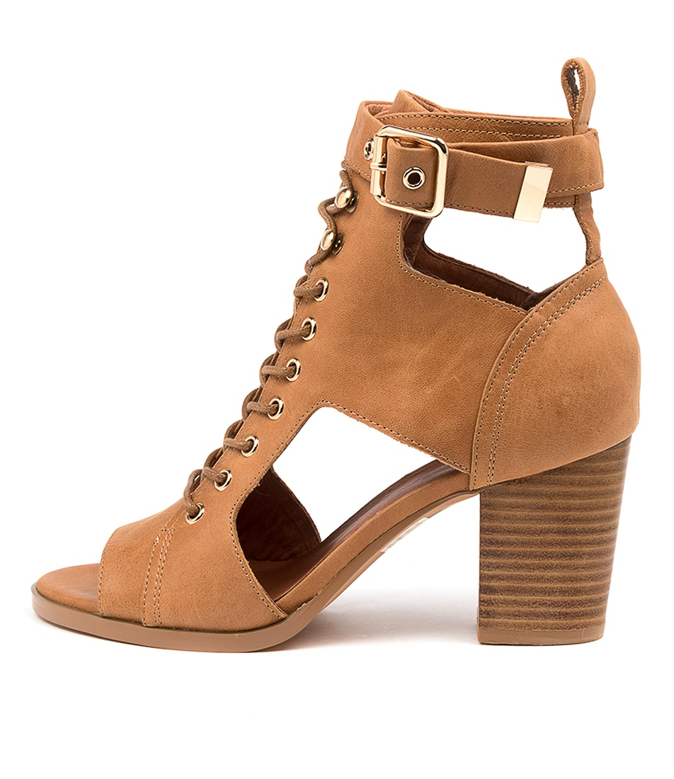 Buy Mollini Eedey Mo Tan Heeled Sandals online with free shipping