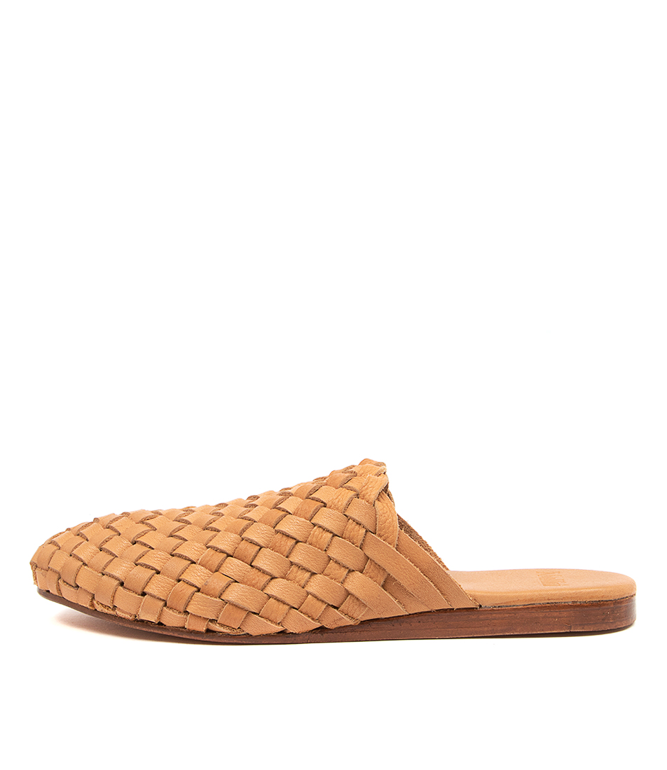 Buy Mollini Chikpi Mo Lt Tan Flats online with free shipping
