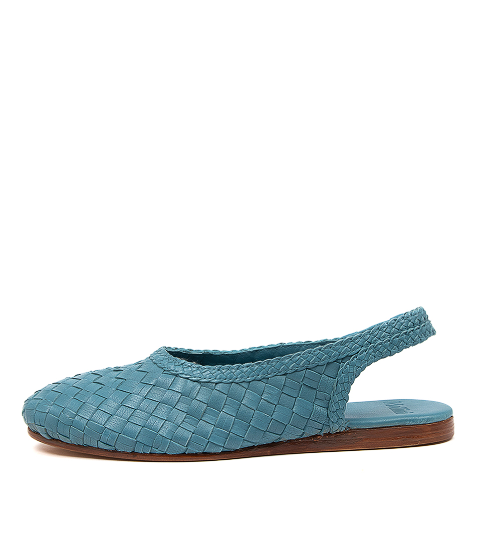 Buy Mollini Celopey Mo Blue Flats online with free shipping
