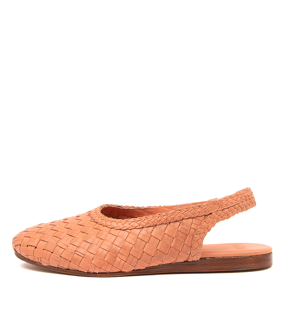 Buy Mollini Celopey Mo Orange Flats online with free shipping