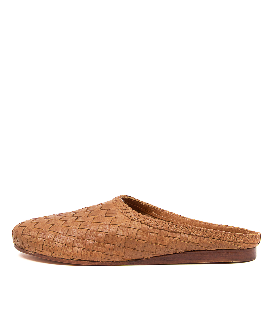Buy Mollini Cinen Mo Lt Tan Flats online with free shipping