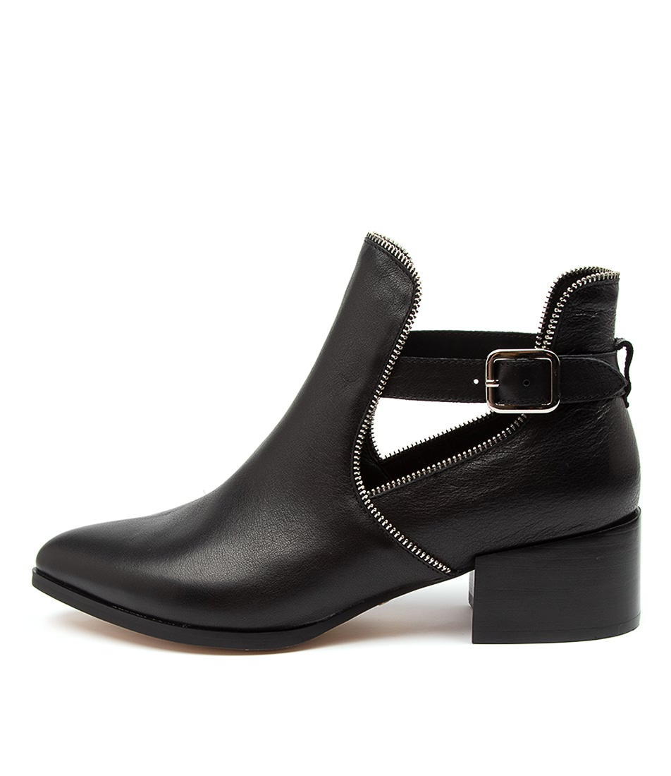 Buy Mollini Dazin Mo Black Ankle Boots online with free shipping