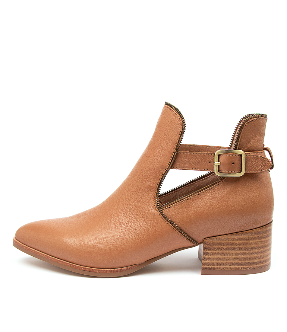 Buy Mollini Dazin Mo Dk Tan Ankle Boots online with free shipping