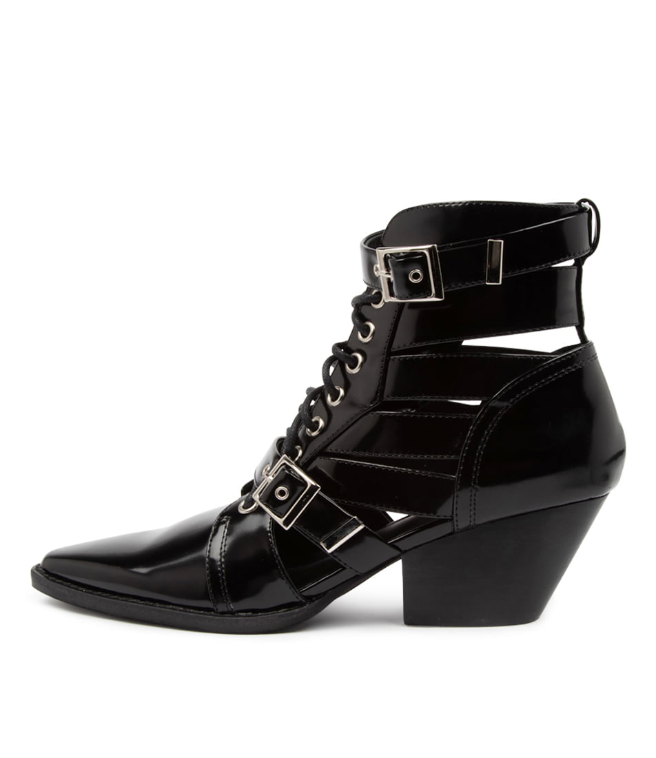 Buy Mollini Fayt Mo Black Ankle Boots online with free shipping